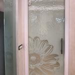 Porte in vetro su misura con decoro serigrafato - Roma - VetroeXpert - Porte in vetro su misura e Pareti divisorie