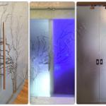 Porte scorrevoli scrigno - Roma - VetroeXpert - Porte in vetro su misura e Pareti divisorie