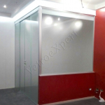 Ufficio Realizzato In Open Space Agenzia Immobiliare Conca D'Oro Roma VetroeXpert Pareti Divisorie In Cristallo