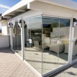 Veduta Vetrate pieghevoli Glassroom - Roma - VetroeXpert - Vetrate Pieghevoli e vetrate a scomparsa Glassroom