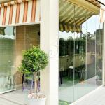 Vetrata panoramica in vetro Giardino d'inverno - Roma - VetroeXpert - Vetrate Pieghevoli e vetrate a scomparsa Glassroom
