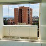 Vetrata pieghevole per balcone vista interna - Roma - VetroeXpert - Vetrate Pieghevoli e vetrate a scomparsa Glassroom