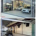 Vetrata removibile a pacchetto - Roma - VetroeXpert - Vetrate Pieghevoli e vetrate a scomparsa Glassroom