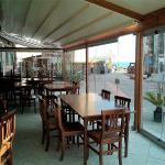 Vetrate a scomparsa Glassroom parete ristorante - Roma - VetroeXpert - Vetrate Pieghevoli e vetrate a scomparsa Glassroom