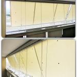 Vetrate a tutto vetro per balconi - Roma - VetroeXpert - Vetrate Pieghevoli e vetrate a scomparsa Glassroom