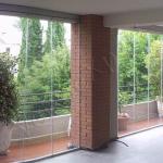 Vetrate panoramiche - Roma - VetroeXpert - Vetrate Pieghevoli e vetrate a scomparsa Glassroom