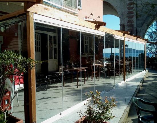 Vetrate Panoramiche Fronte Mare Installate A Portofino   Roma   VetroeXpert   Vetrate Pieghevoli E Vetrate A Scomparsa Glassroom