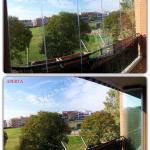 Vetrate pieghevoli in balcone - Roma - VetroeXpert - Vetrate Pieghevoli e vetrate a scomparsa Glassroom