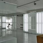Vista d'insieme pareti divisorie in cristallo Museo del fumo - Roma - VetroeXpert - Porte in vetro su misura e Pareti divisorie.jpg
