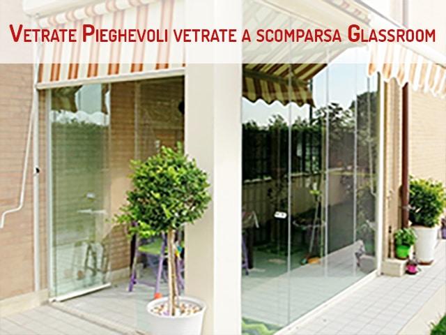 Vetrate Pieghevoli e vetrate a scomparsa Glassroom