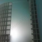Porta in vetro satinato - Roma - VetroeXpert - Porte in vetro su misura e Pareti divisorie