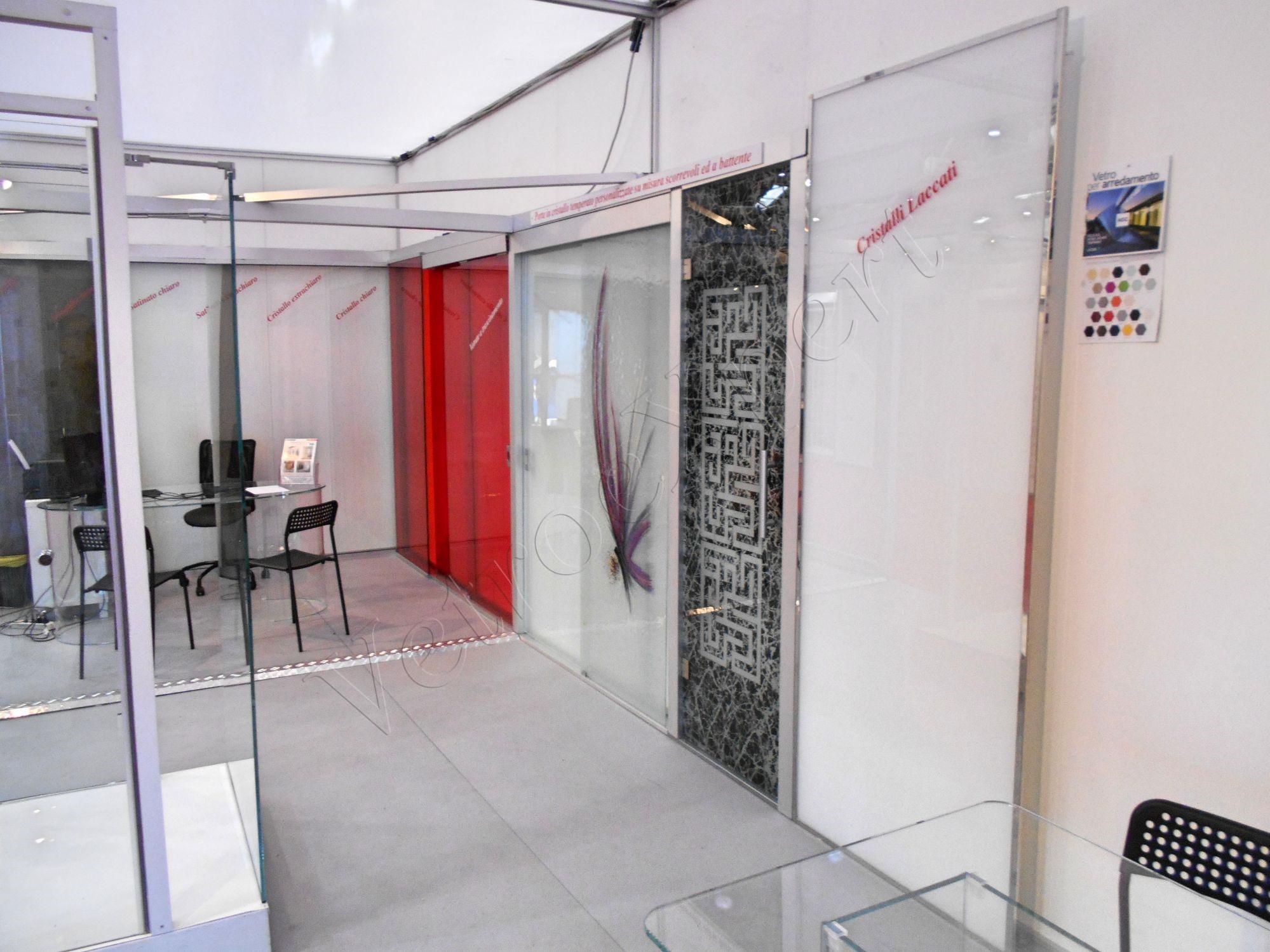 Stand VetroeXpert dettaglio - Moa Casa 2017 - VetroeXpert - Roma