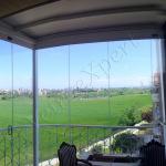 Pergotenda Vista Interna Con Vetrate Panoramiche A Pacchetto Pergotende, Pergole Bioclimatiche