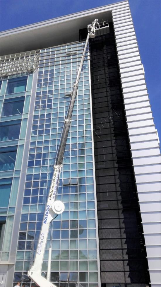 Uffici Applicazione Con Gru   Roma   VetroeXpert   Pellicole Per Vetri, Sicurezza, Termica, Protezione Solare, Estetica