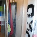 box doccia in vetro con serigrafia su misura roma
