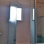 Box Doccia in Vetro satinato su misura - Roma - VetroeXpert