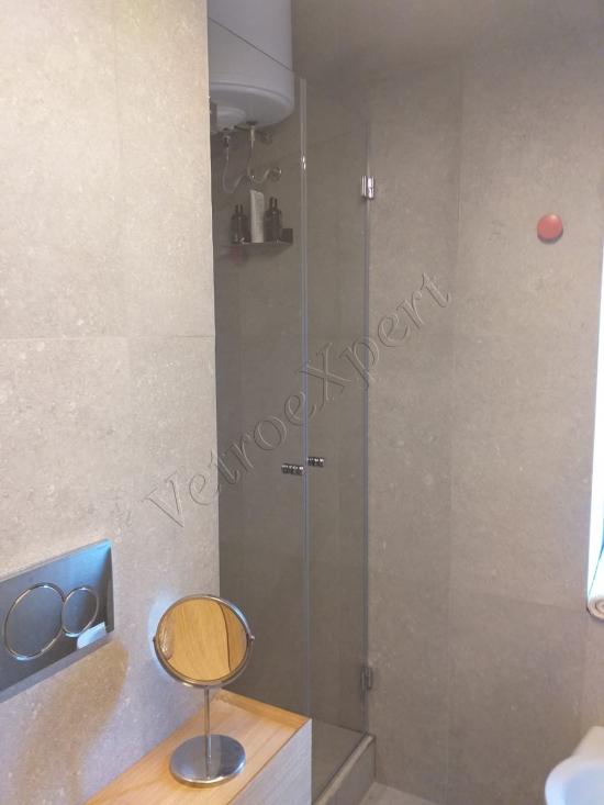 box doccia in vetro 2 ante su misura roma