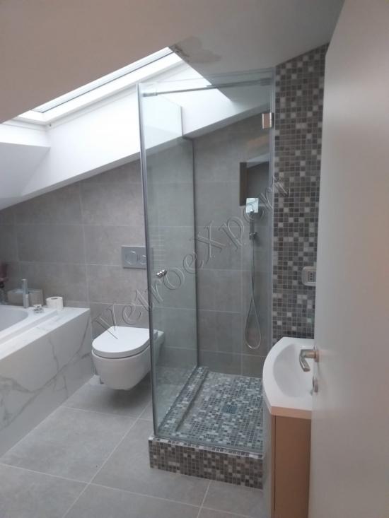 box doccia in vetro su misura roma